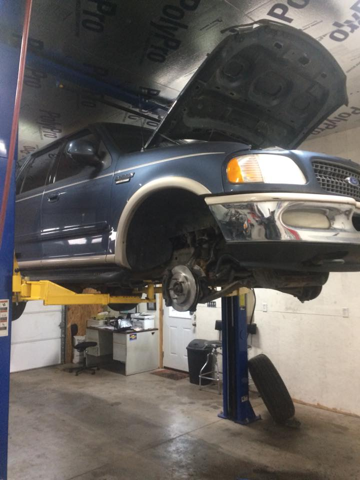 Brakes, Balljoints, and Starter Repair